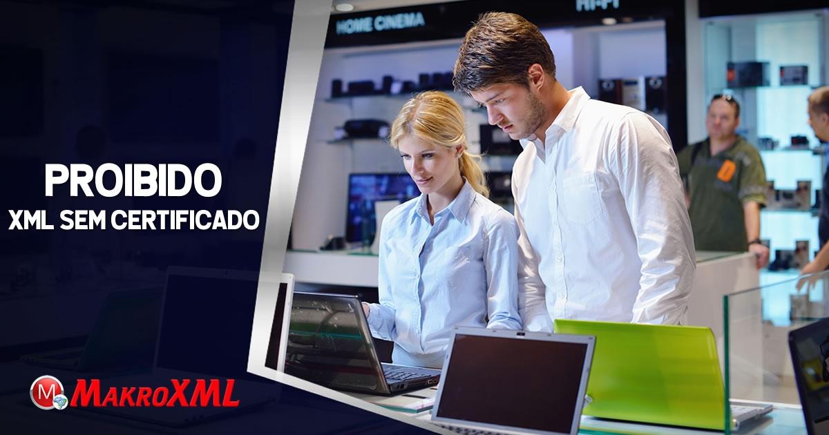 Baixar XML Sem Certificado Não é Mais Possível