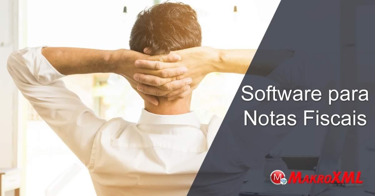 Notas Fiscais software de gerenciamento