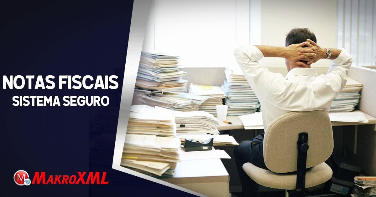 Sistema Seguro de Notas Fiscais para Contadores