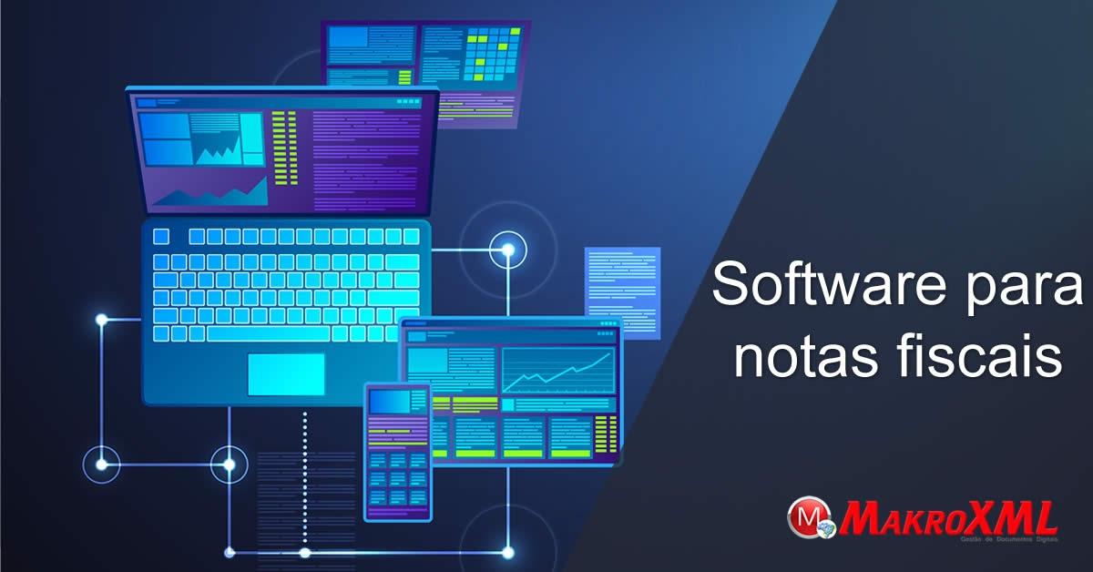 Software para notas fiscais XMLs